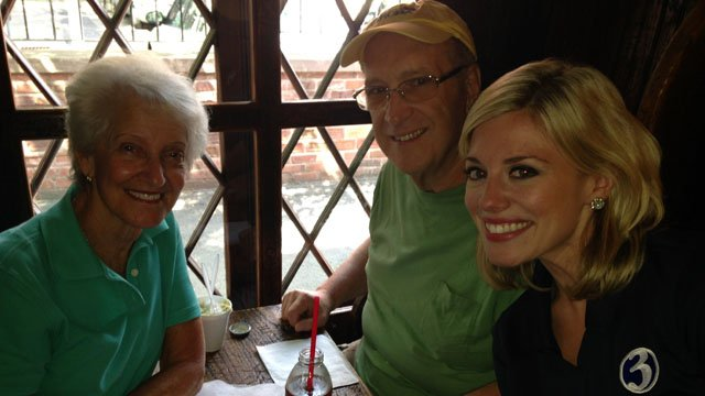 The Yazmers with Nicole Nalepa. (WFSB photo)