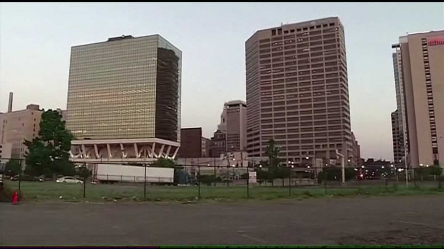 The Downtown North neighborhood in Hartford is the site of the new stadium proposal. (WFSB file photo)