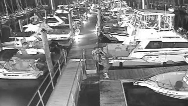 Video Shows 2 Men Stealing Boat Motor From Marina In Branford Wfsb 3 Connecticut