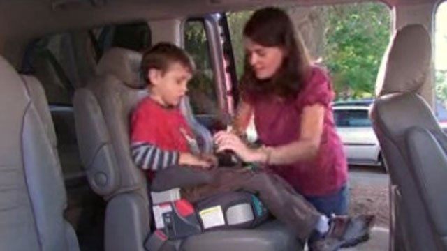 Survey: Many parents stop using booster seats too soon - WFSB 3 ...