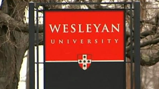 Wesleyan University in Middletown is ordering its fraternities and sororities to become coeducational. (WFSB file photo)