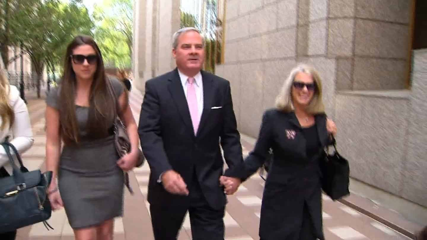 Former Gov. John Rowland was convicted on all counts in his conspiracy trial. (WFSB photo)