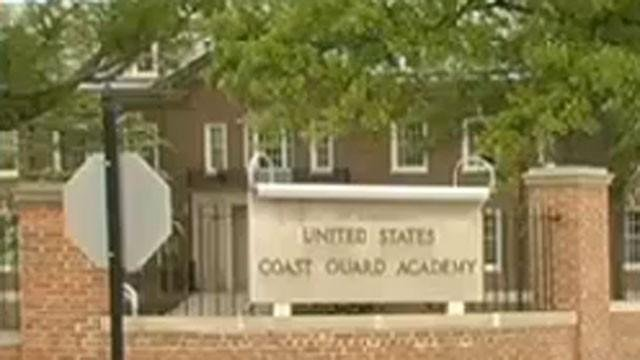 Three cadets at the Coast Guard Academy in Connecticut are facing possible expulsion. (WFSB)