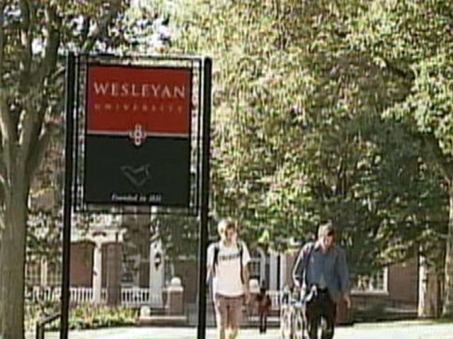 Wesleyan University is one of many Greenskies clients. (WFSB)