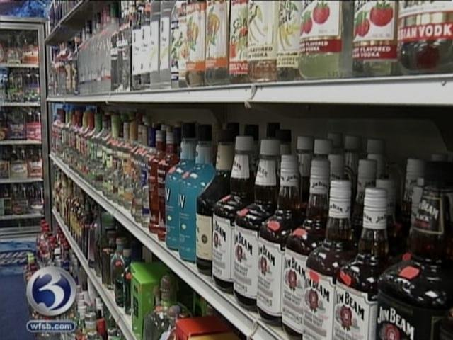 Gov. Dannel Malloy said it's time to stop forcing small package store owners to sell their products at higher prices required by the government. (WFSB file photo)