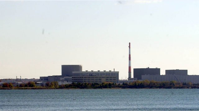 Millstone Nuclear Power Station in Waterford, CT on Oct. 30, 2001. (AP Photo)