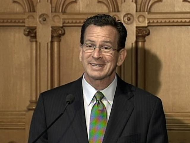 Gov. Dannel P. Malloy was not invited to the charity polo match in Greenwich.
