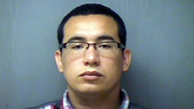 Michael Rios was sentenced to 14 years in prison. (Norwich police photo)