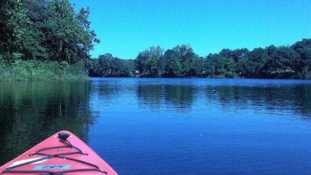 Kayaking on the Farmington River