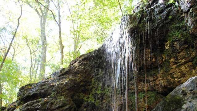 Blackledge Falls in Glastonbury
