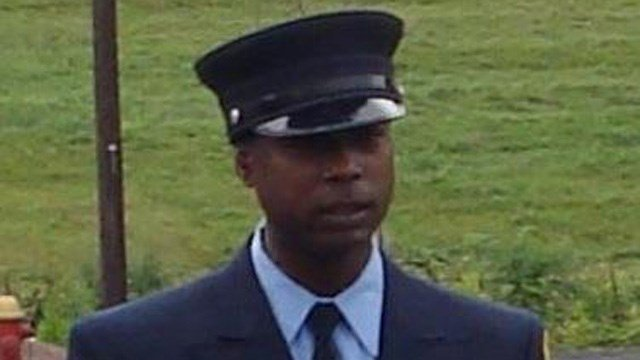 Firefighter Kevin Bell. (Mayor's office photo)