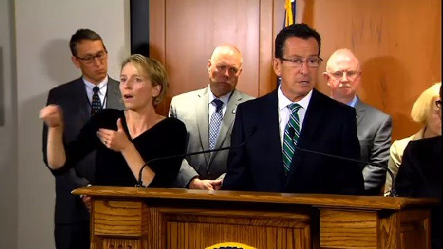 Gov. Dannel Malloy updated the state earlier this month on its statewide Ebola precautions.