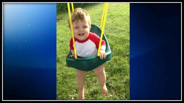 14-month-old Landon Ayers