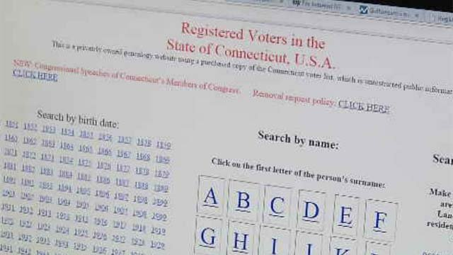 Controversial website showcases voter information
