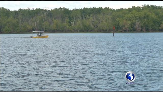 Middletown police said a water operation is underway in the Connecticut River.(WFSB)
