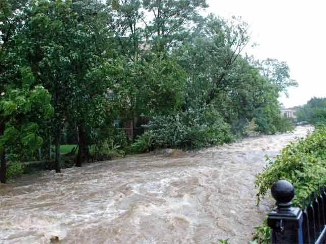 Flooding in Bristol during Hurricane Irene in 2011. (WFSB file photo)