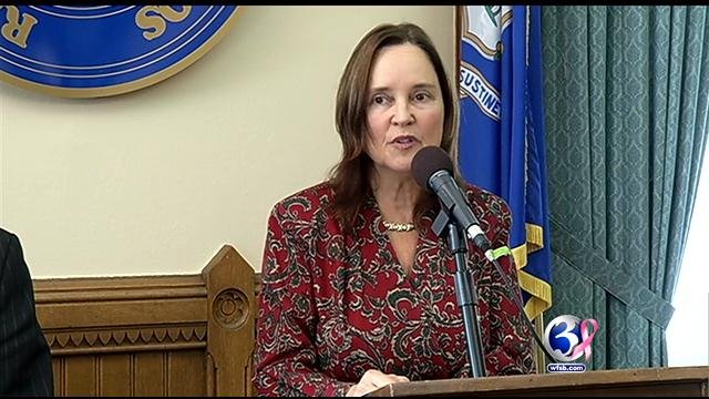 Secretary of the State Denise Merrill said her office to share information with voter fraud commission. (WFSB file photo)
