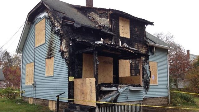 Enfield arson (WFSB file photo)