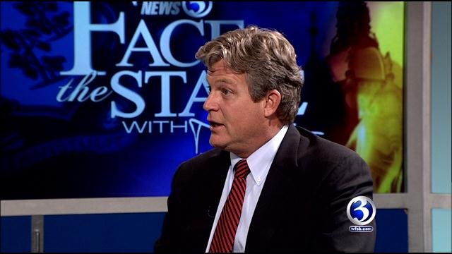 """Ted Kennedy, Jr. says he """"will not be a candidate for statewide office in 2018."""" (WFSB file photo)"""