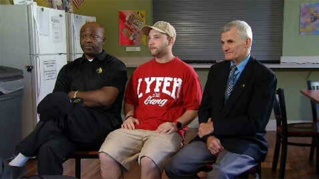 Veterans succeed after Homes for the Brave program.