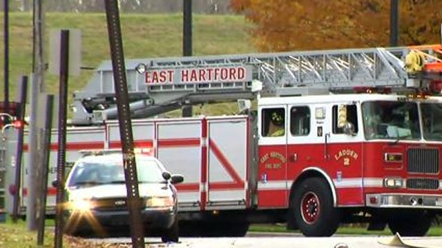 Emergency crews were called to CNG in East Hartford after an explosion.
