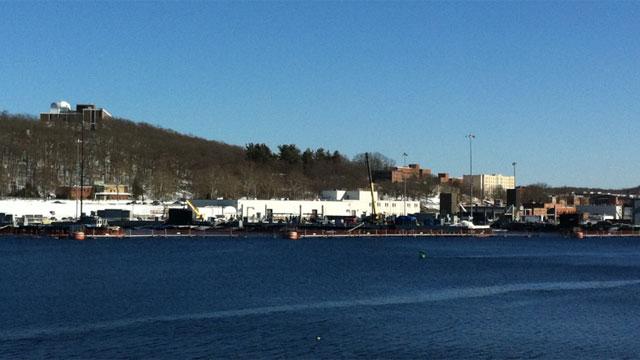 The submarine base in Groton (WFSB file photo)