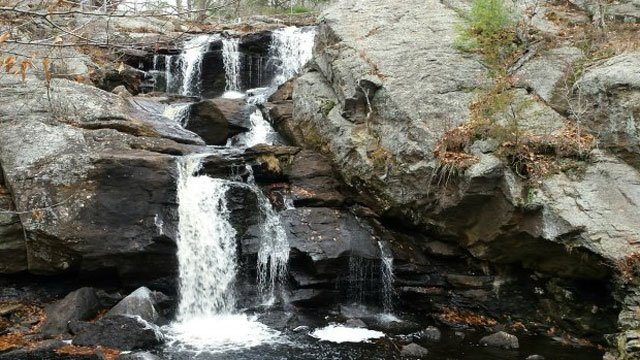 Falls at Devil's Hopyard State Park in East Haddam