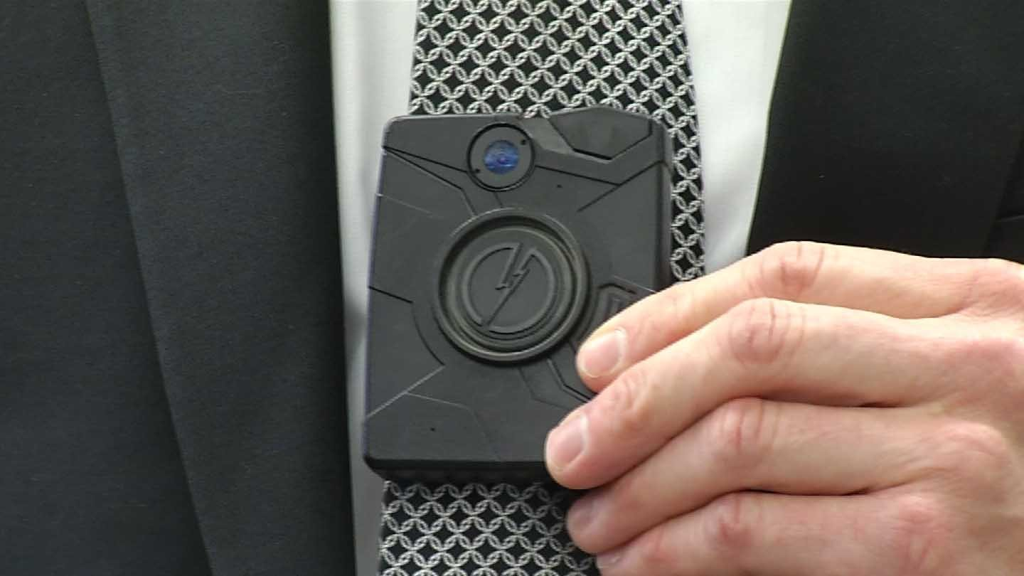 Connecticut State Police purchased hundreds of body cameras to equip troopers. (WFSB photo)