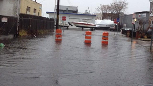 Shoreline town Norwalk sustained heavy flooding during Hurricane Sandy. (WFSB file photo)