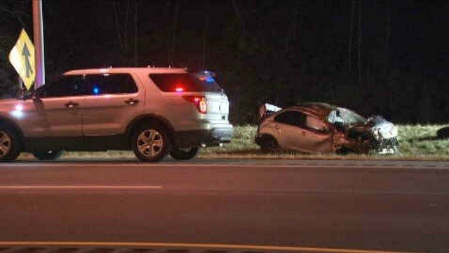 Police investigate serious crash on Route 9 south.