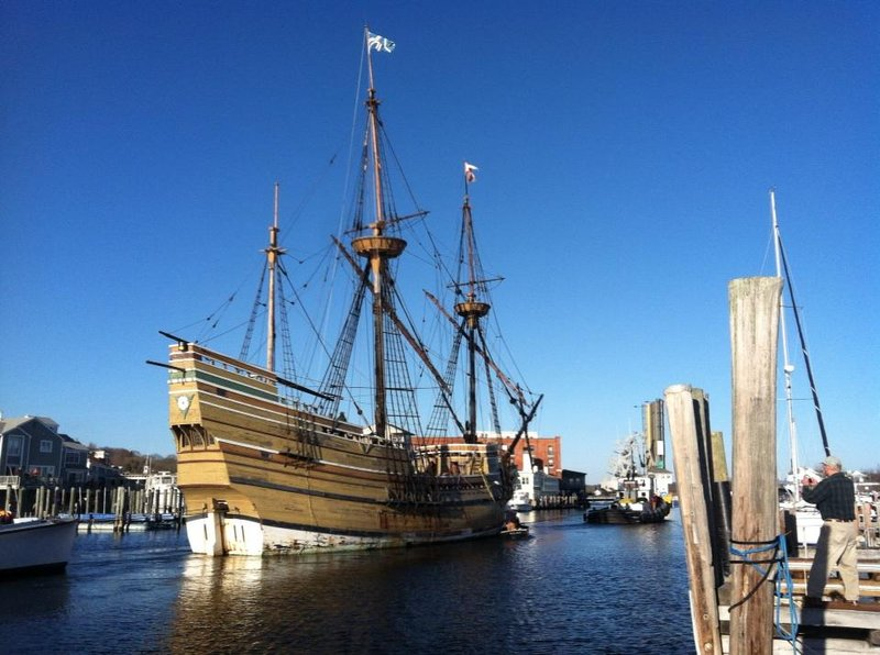 The Mayflower Ii Arrives At Mystic Seaport For Restoration