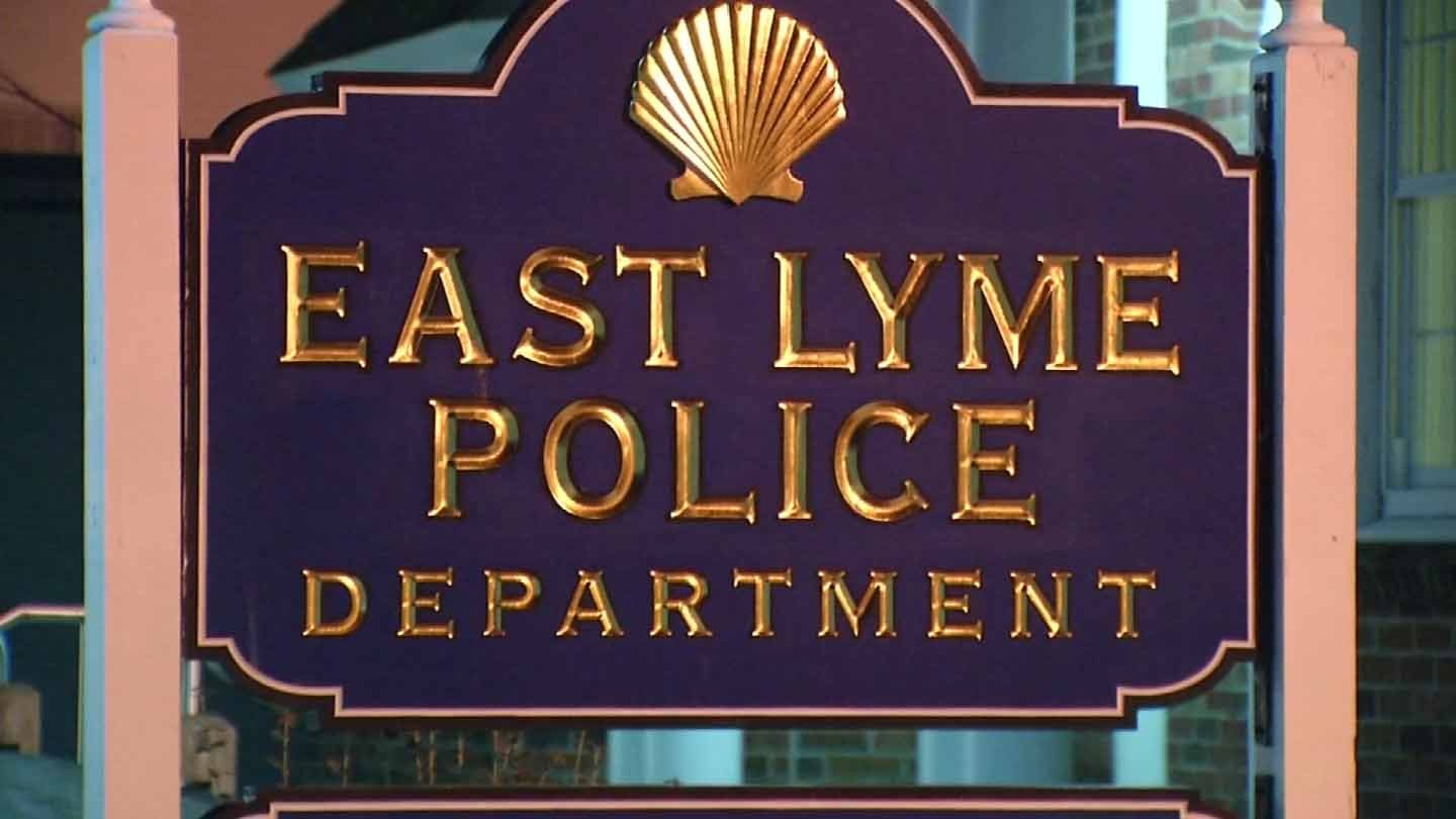 East Lyme Police Department. (WFSB photo)