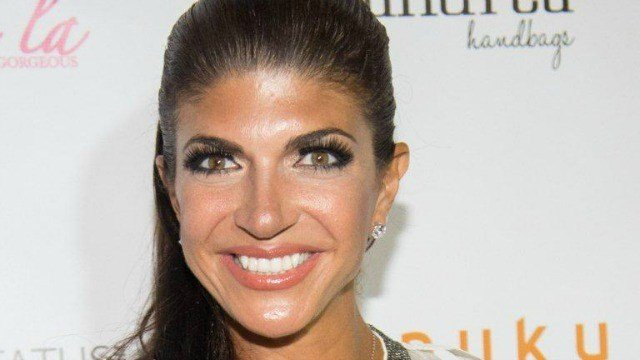 "Teresa Giudice attends ""The Real Housewives of New Jersey"" White Party at the Woodbury Country Club on Monday, July 21, 2014 in New York. (Photo by Scott Roth/Invision/AP)"