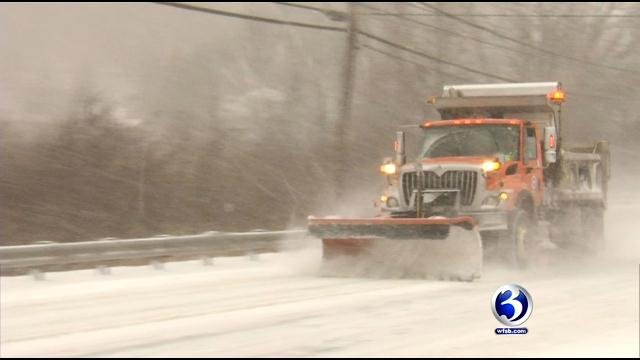 DOT pre-treated state roads throughout the northwest hills on Wednesday night. (WFSB file)