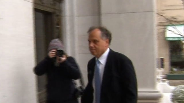 Businessman Brian Foley arrives at court on Friday. (WFSB)