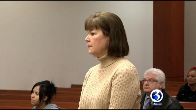 Elizabeth Zembko during a previous court appearance. (WFSB photo)