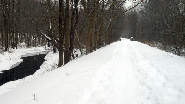Farmington Canal Heritage Trail in Cheshire (WFSB)