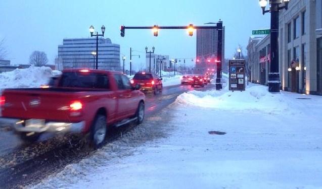 Parking ban in Hartford continues Sunday morning