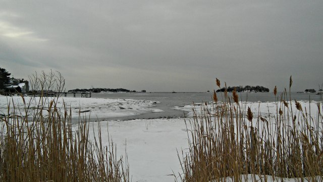 View of Long Island Sound (WFSB)