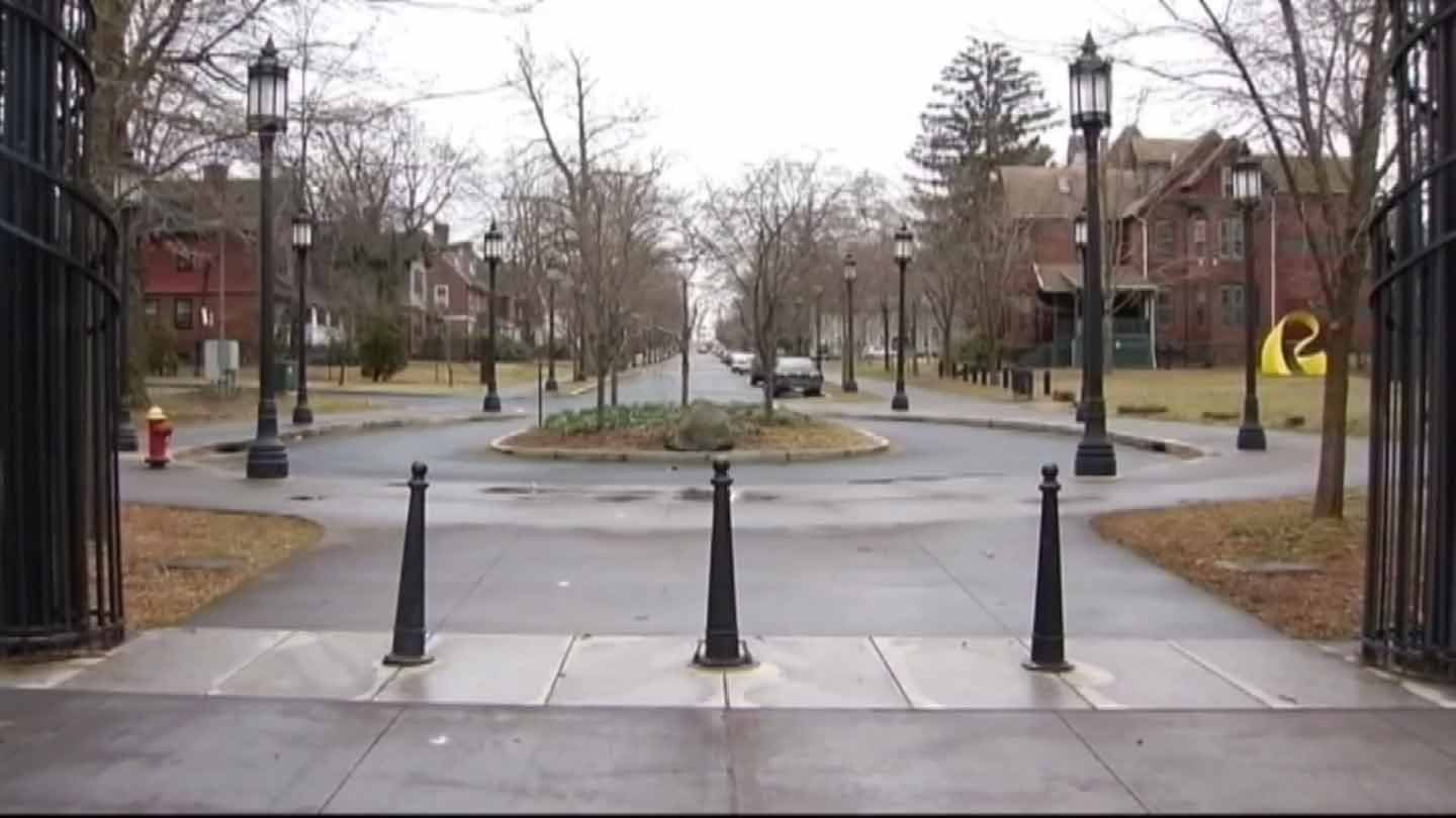 Several fraternity members at Trinity were injured by a group of Hartford teens this weekend. (WFSB)