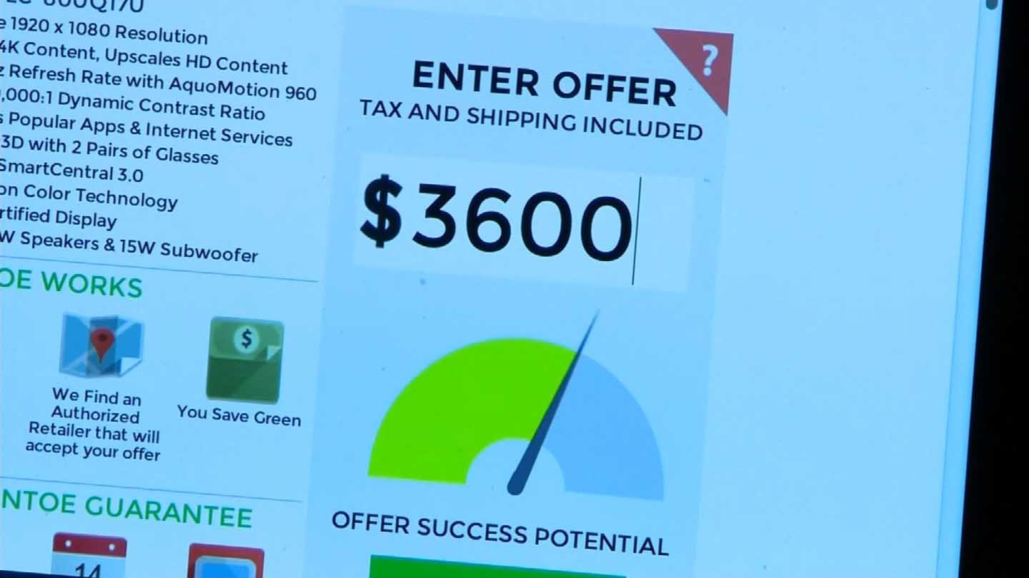 Sites like Greentoe allow shoppers to haggle. (CBS photo)