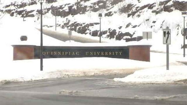 Bed battle between Quinnipiac University and Hamden