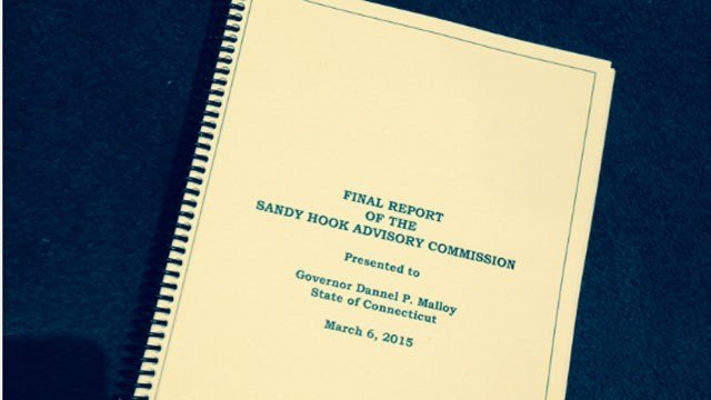 The final report was released by the Sandy Hook Advisory Commission. (WFSB)