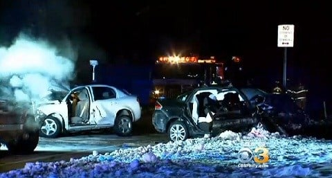 Coast Guard Cadets Car Crash
