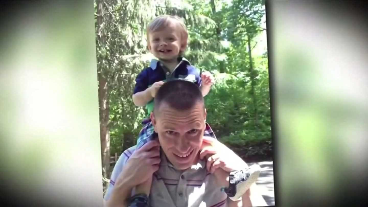 WFSB has obtained this photo of Kyle Seitz with his son Benjamin.