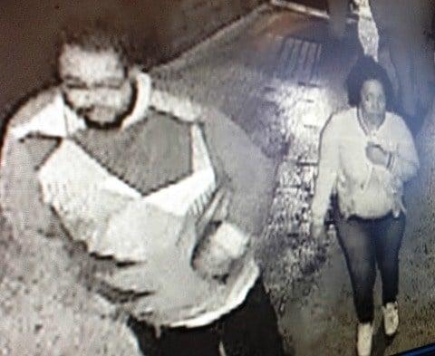 male suspect 2 and female suspect 2