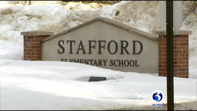 A teacher at Stafford Elementary is on leave after being charged with sexual assault. (WFSB)