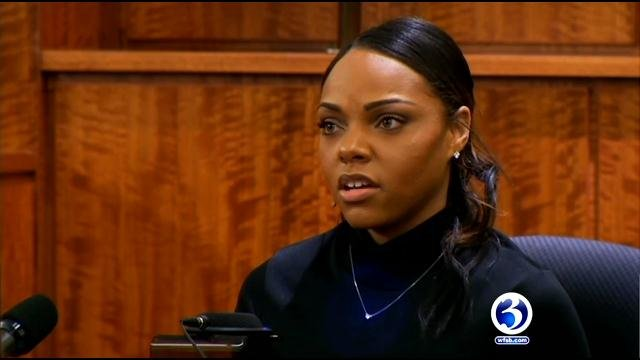 Shayanna Jenkins said she thought her fiancee was coming home. (WFSB file photo)