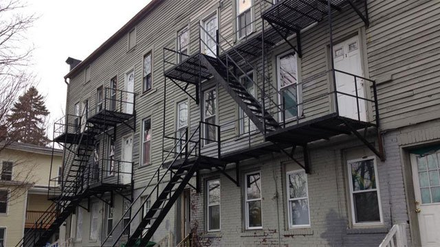 Another Bristol apartment building was condemned after landlord fails to make repairs. (WFSB)
