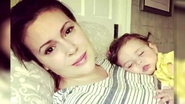 Actress Alyssa Milano has breast milk thrown out at airport (CBS News)